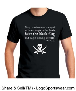 Black Flags Design Zoom